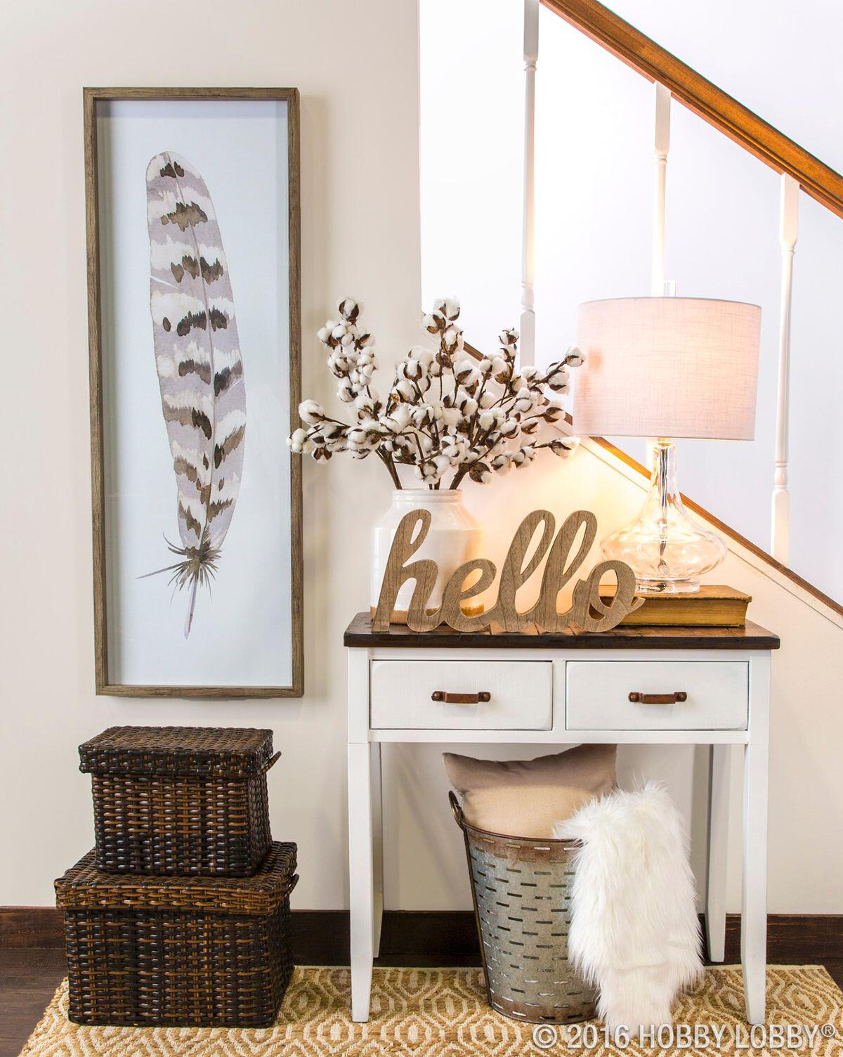 12 small entryway decor ideas you can copy for Front room decorating designs