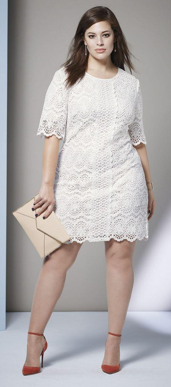 14 inspiring white lace dress outfits for all seasons - 14 inspiring white lace dress outfits for all seasons