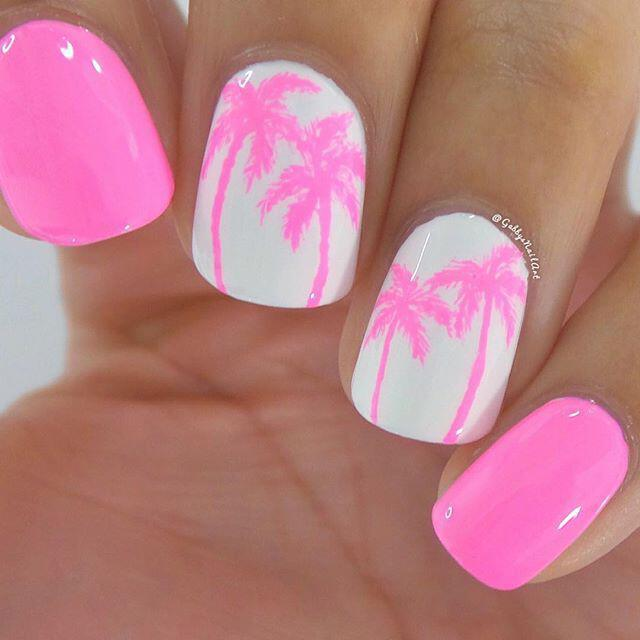 15 beautiful neon summer nails that will get you ready for the beach ...