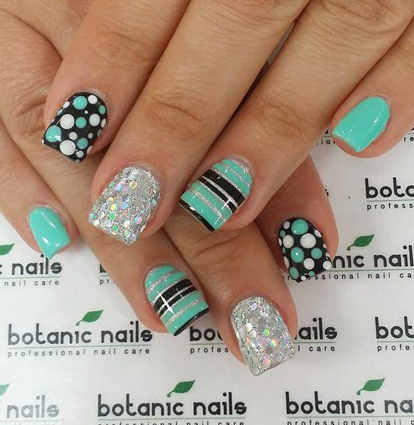 15 easy polka dot summer nail art ideas to get inspiration 11 - 15 easy polka dot summer nail art ideas to get inspiration