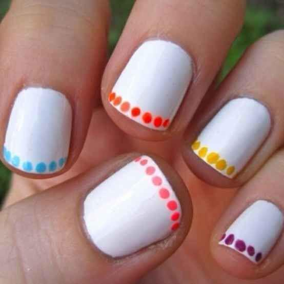 15 easy polka dot summer nail art ideas to get inspiration 4 - 15 easy polka dot summer nail art ideas to get inspiration