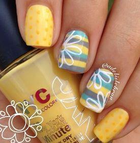 15 easy polka dot summer nail art ideas to get inspiration 8 - 15 easy polka dot summer nail art ideas to get inspiration