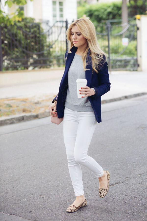 14aafd996d 15 stylish navy blazer summer outfits to wear at work - Page 7 of 15 ...