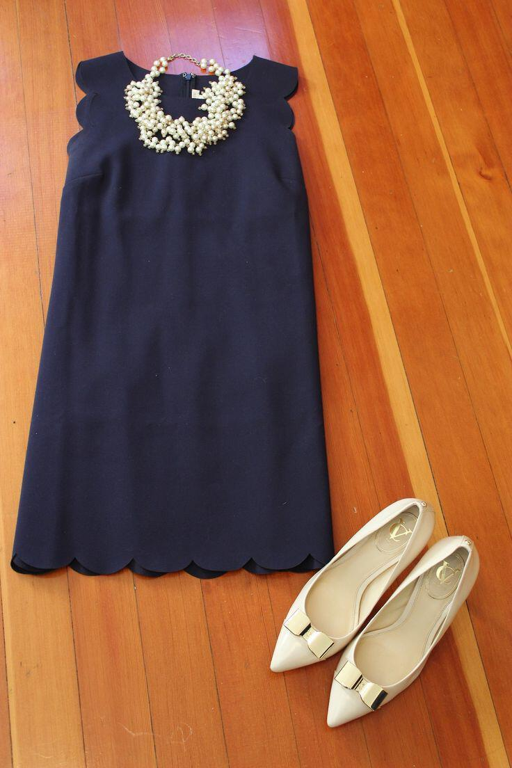 15 ways to wear a navy dress outfit and what accessories to choose 9 - 15 ways to wear a navy dress outfit and what accessories to choose