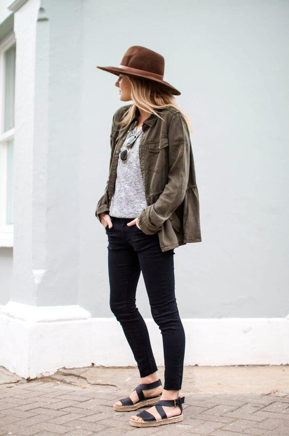 9 ideas on how to wear green parkas in spring all day outfits 4 - 9 ideas on how to wear green parkas in spring all day outfits