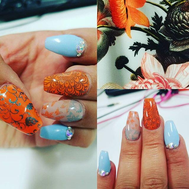 9 lovely nail designs to try for long short nails - Page 3 of 9 ...