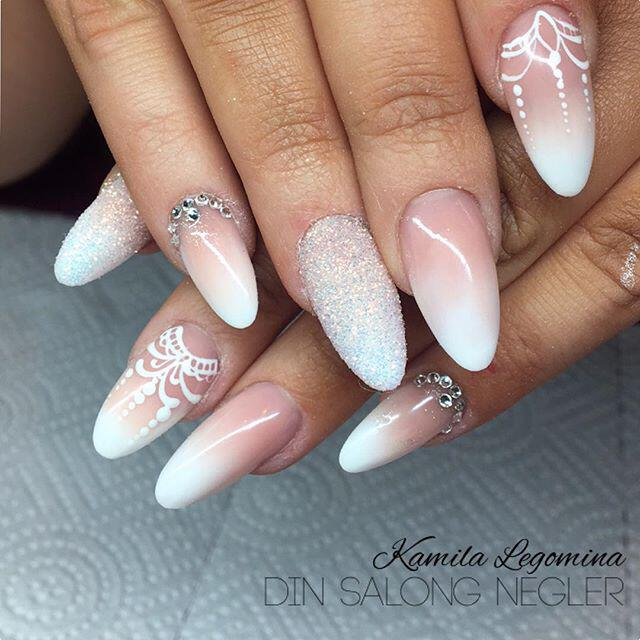 9 lovely nail designs to try for long short nails ...