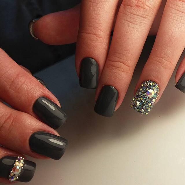 9 lovely nail designs to try for long short nails - Page 8 of 9 ...