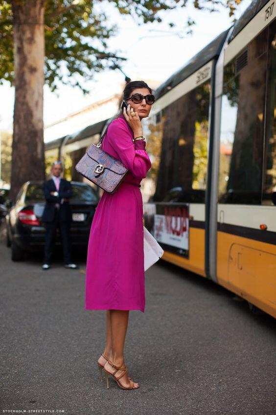 what color shoes to wear with a fuchsia dress 1 - What color shoes to wear with a fuchsia dress