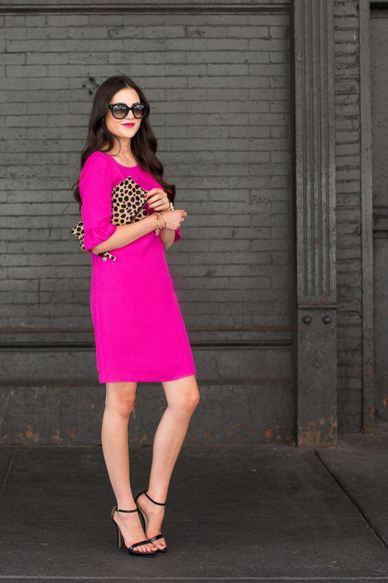 What Color Shoes To Wear With Magenta Dress