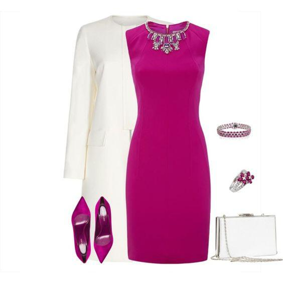 what color shoes to wear with a fuchsia dress 3 - What color shoes to wear with a fuchsia dress