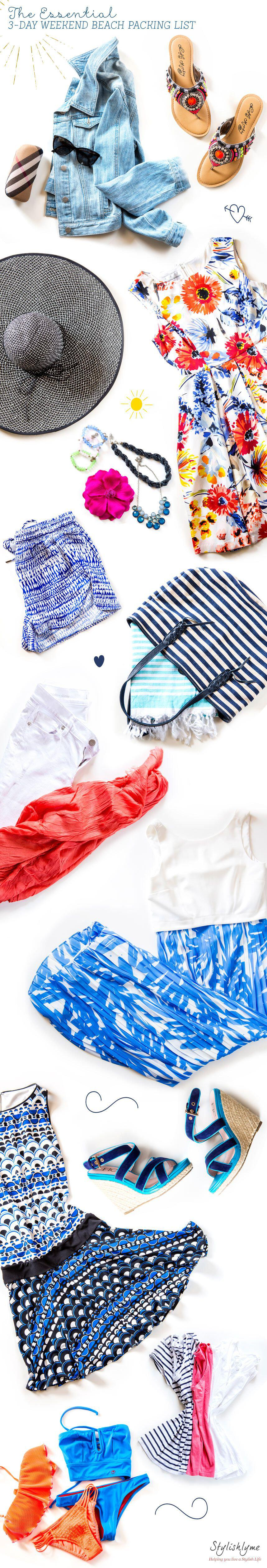 what to pack for a weekend at the beach 1 - What to pack for a weekend at the beach