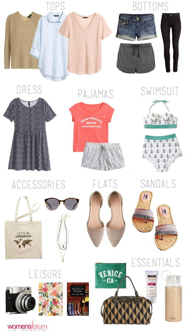 what to pack for a weekend at the beach 6 - What to pack for a weekend at the beach