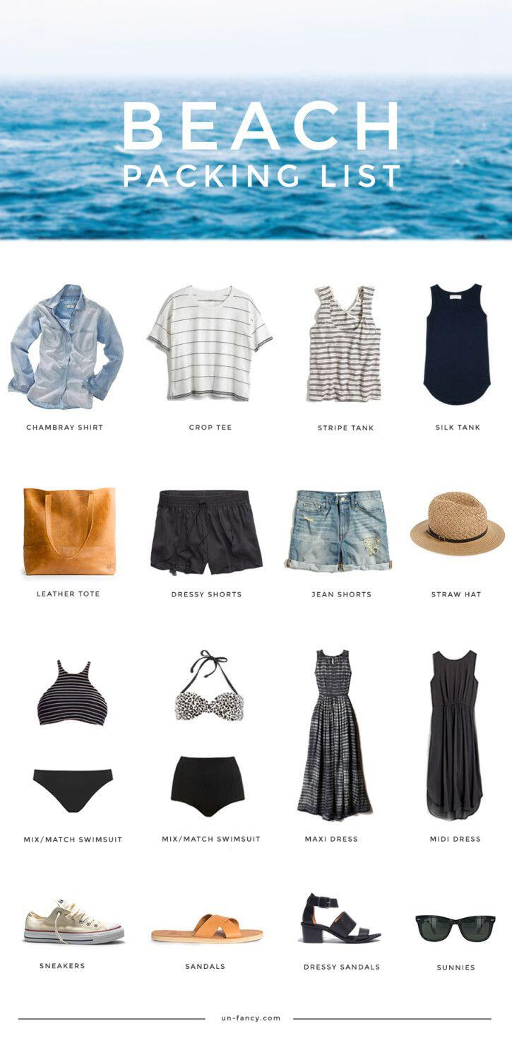 what to pack for a weekend at the beach - What to pack for a weekend at the beach