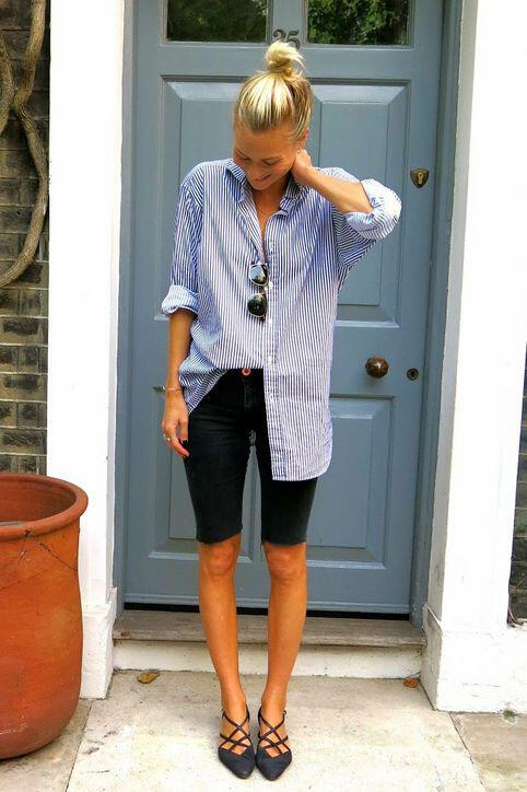 12 women work outfits ideas with shorts 7 - 12 women work outfits ideas with shorts