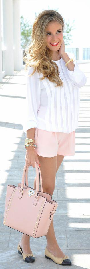 12 women work outfits ideas with shorts 8 - 12 women work outfits ideas with shorts