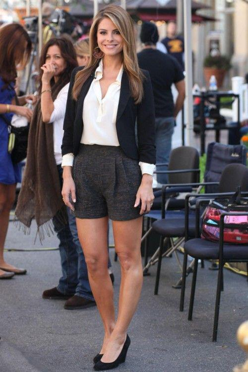 12 women work outfits ideas with shorts - 12 women work outfits ideas with shorts