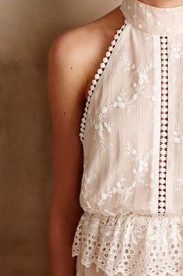 14 cute summer outfit with eyelet tops 9 - 14 cute summer outfit with eyelet tops
