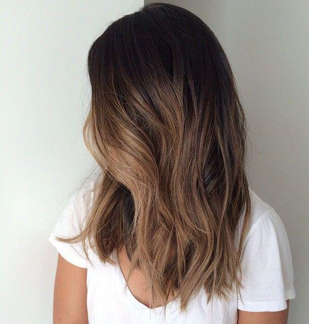 14 hot brunette balayage hairstyles that you will love 1 - 14 hot brunette balayage hairstyles that you will love