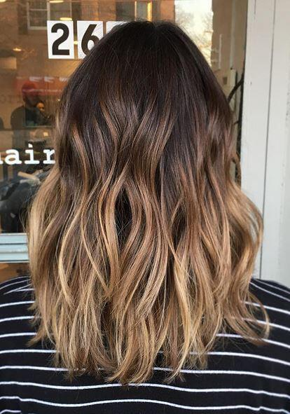 14 hot brunette balayage hairstyles that you will love 10 - 14 hot brunette balayage hairstyles that you will love