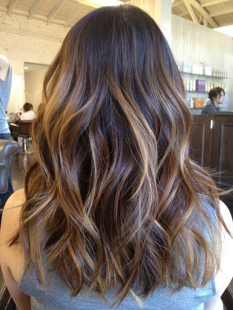 14 hot brunette balayage hairstyles that you will love 12 - 14 hot brunette balayage hairstyles that you will love