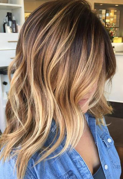 14 hot brunette balayage hairstyles that you will love 14 - 14 hot brunette balayage hairstyles that you will love