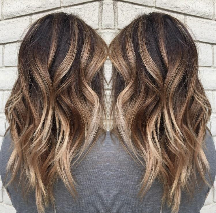 14 hot brunette balayage hairstyles that you will love 7 - 14 hot brunette balayage hairstyles that you will love