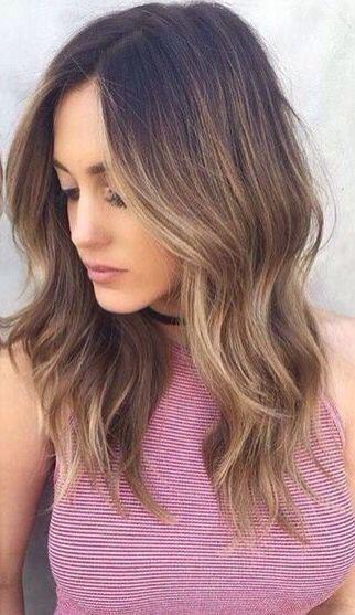 14 hot brunette balayage hairstyles that you will love 8 - 14 hot brunette balayage hairstyles that you will love
