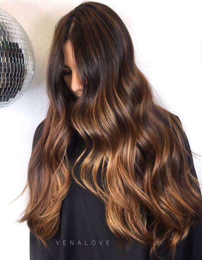 14 hot brunette balayage hairstyles that you will love - 14 hot brunette balayage hairstyles that you will love