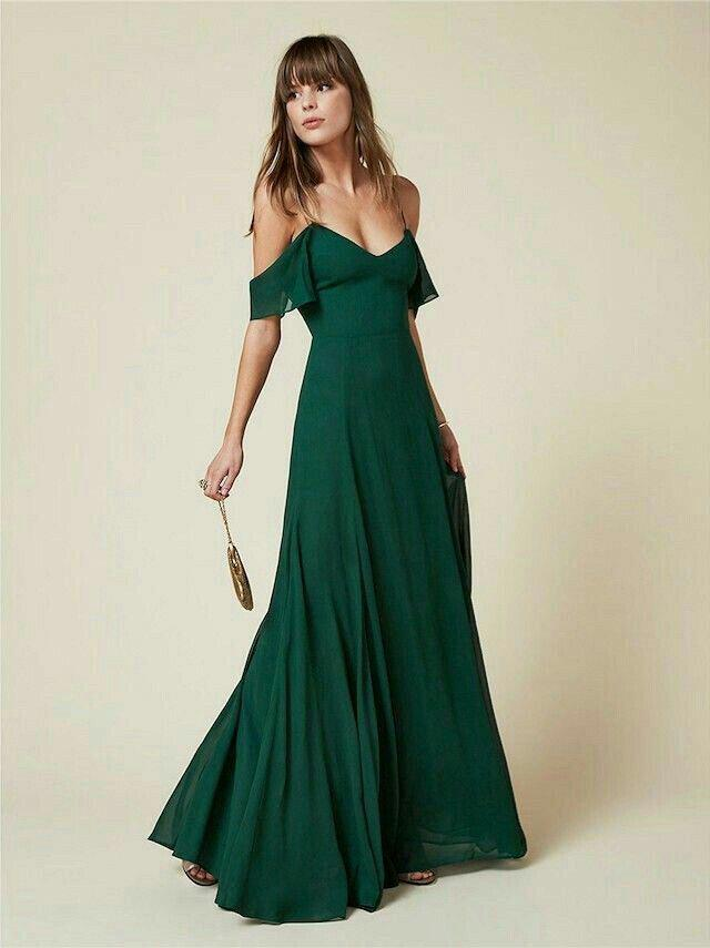 14 stylish ideas to wear an emerald green dress 2 - 14 stylish ideas to wear an emerald green dress