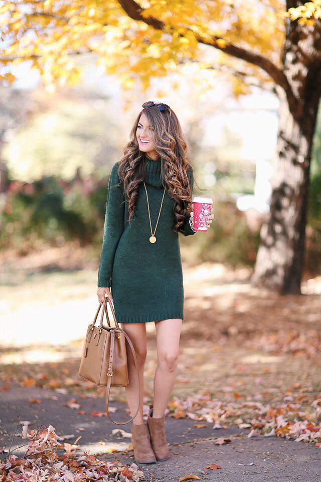 14 stylish ideas to wear an emerald green dress 3 - 14 stylish ideas to wear an emerald green dress