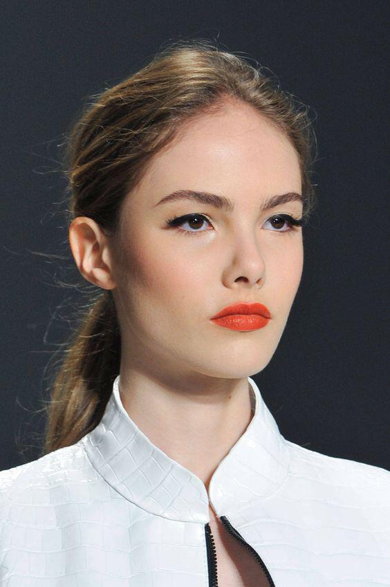 romantic makeup in orange tones 1 - 6 romantic makeup looks in orange tones
