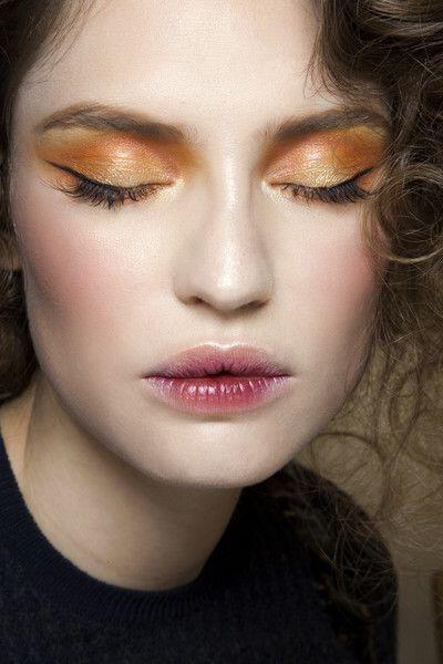 romantic makeup in orange tones 4 - 6 romantic makeup looks in orange tones