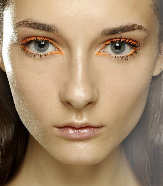 romantic makeup in orange tones 5 - 6 romantic makeup looks in orange tones