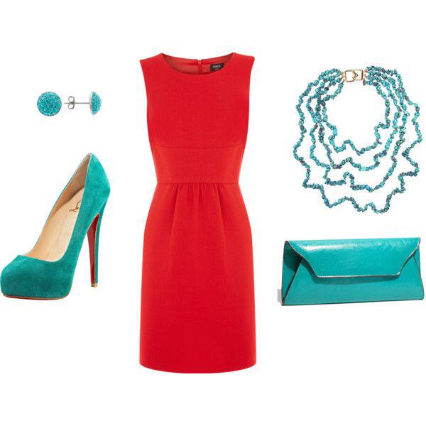 12 ways to style a red dress outfit for all seasons 4 - 12 ways to style a red dress outfit for all seasons