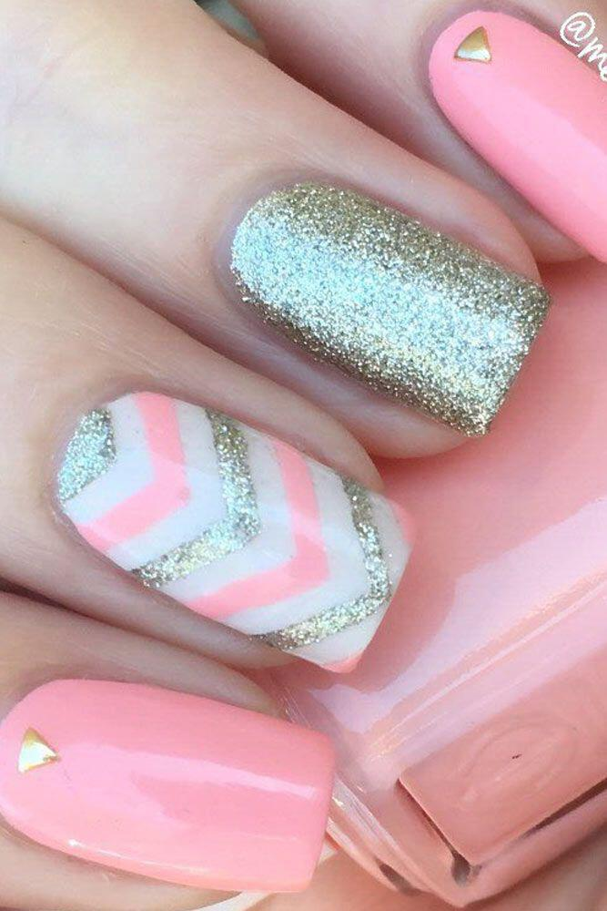 15 beautiful chevron nail designs to try this summer 1 - 15 beautiful chevron nail designs to try this summer