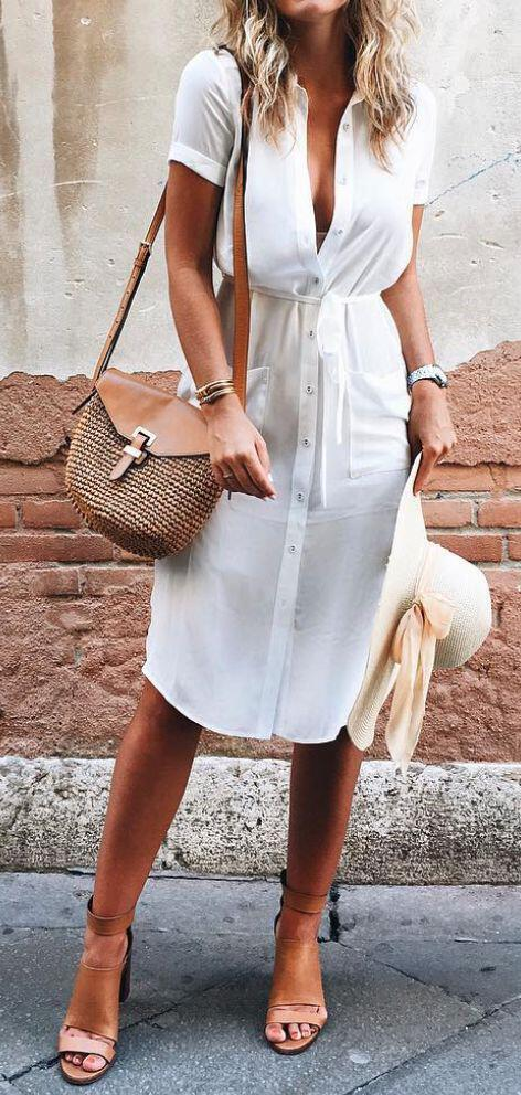 15 stylish summer outfits for women to wear all day 10 - 15 stylish summer outfits for women to wear all day