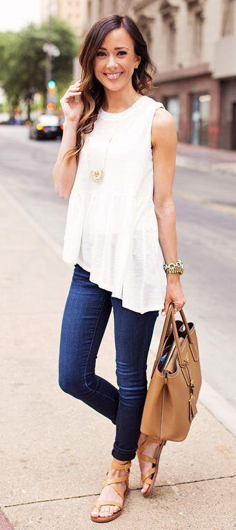 15 stylish summer outfits for women to wear all day 12 - 15 stylish summer outfits for women to wear all day