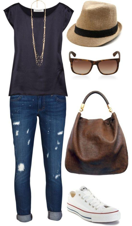 841b7532b61 15 stylish summer outfits for women to wear all day - Page 7 of 15 ...