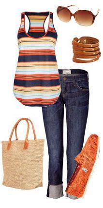 15 stylish summer outfits for women to wear all day 7 - 15 stylish summer outfits for women to wear all day