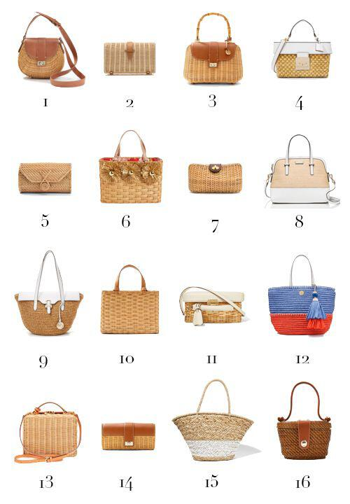 15 stylish woven bag outfits for the summer 3 - 15 stylish woven bag outfits for the summer