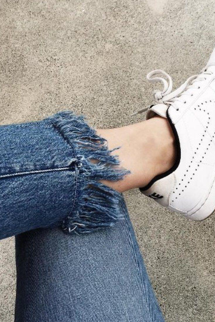 15 ways to wear frayed hem jeans - 15 ways to wear frayed hem jeans