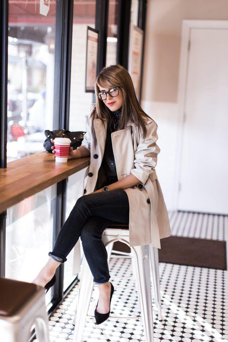 25 fall work outfit with a trench coat - 25 fall work outfit with a trench coat