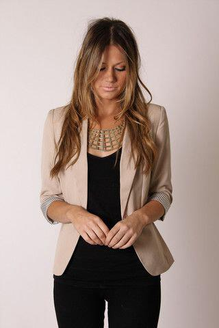 12 stylish beige blazer fall outfits you can also wear 2 - 12 stylish beige blazer fall outfits you can also wear