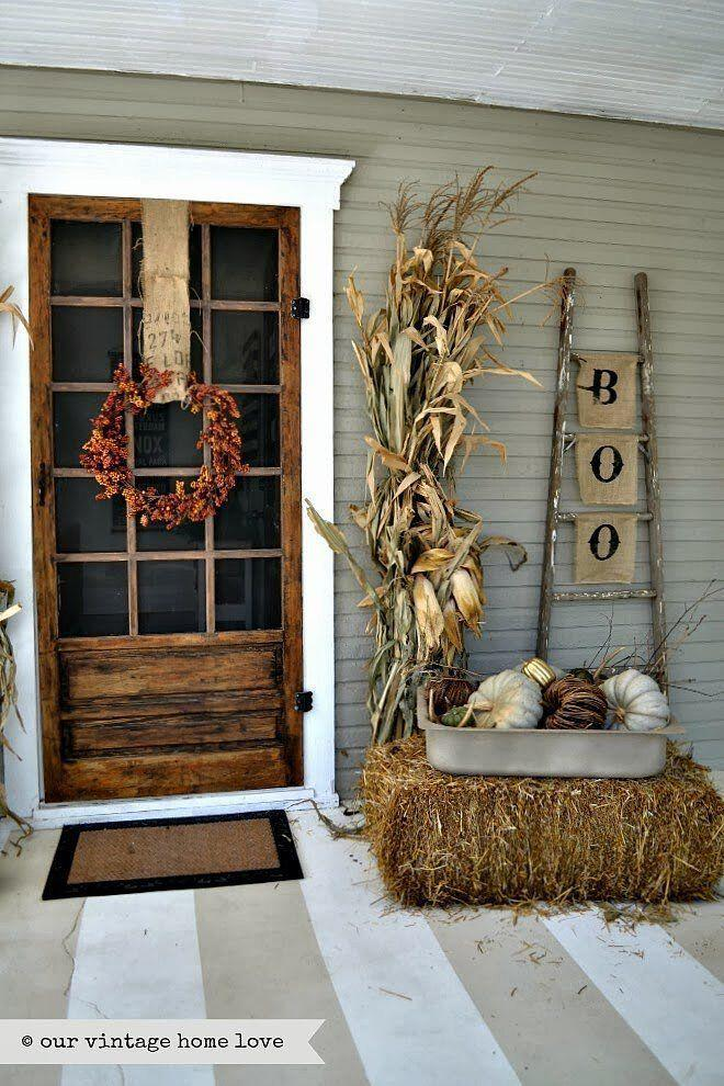 14 amazing fall porch decorating ideas 11 - 14 amazing fall porch decorating ideas