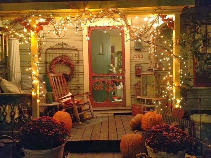 14 amazing fall porch decorating ideas 8 - 14 amazing fall porch decorating ideas