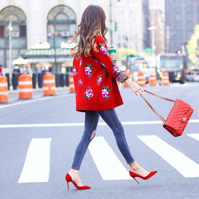15 ways to wear red this fall - 15 ways to wear red this fall