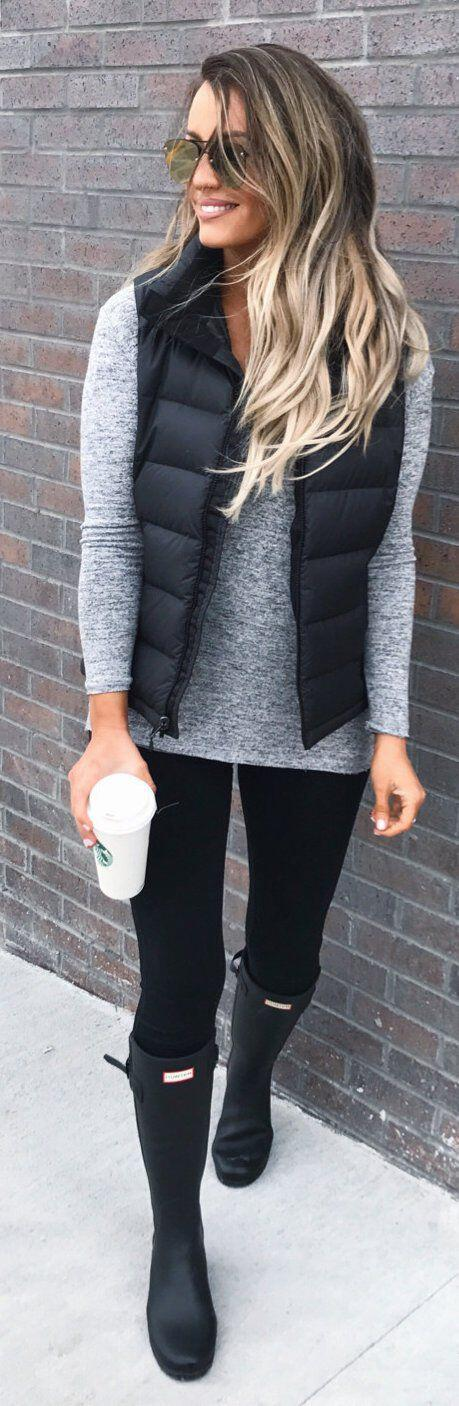 21 casual black jeans fall outfits to wear now 1 - 21 casual black jeans fall outfits to wear now