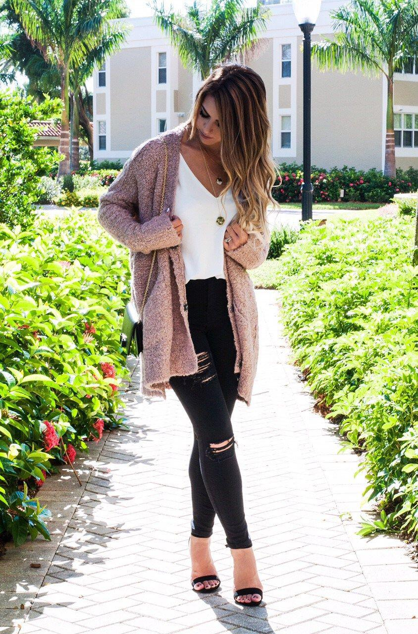 21 casual black jeans fall outfits to wear now ...