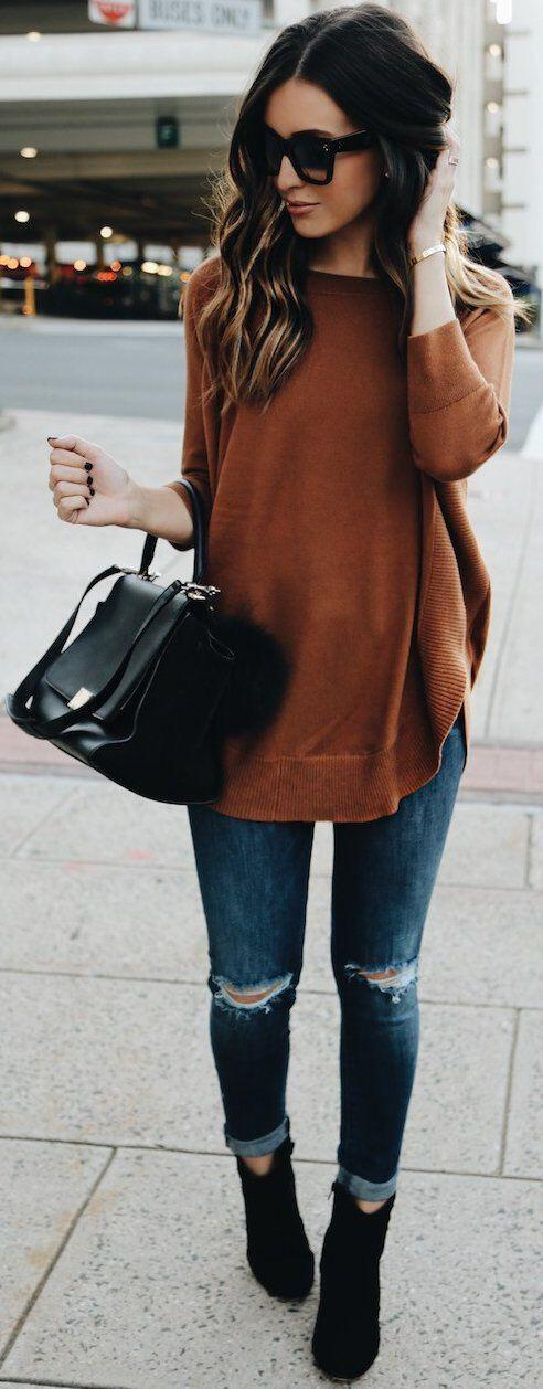 9 black booties outfits to wear this fall 1 - 9 black booties outfits to wear this fall